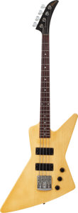 Musical Instruments:Bass Guitars, 1984 Gibson Explorer White Electric Bass Guitar, Serial # 82334911....