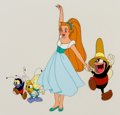 Animation Art:Limited Edition Cel, Thumbelina Limited Edition Cel (Don Bluth, 1994). ...