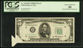 Error Notes:Foldovers, Fr. 1963-H* $5 1950B Federal Reserve Note. PCGS Choice About New55.. ...
