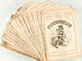 Books:Periodicals, [Periodical]. Thirteen Issues of Punchinello, Vol II, No.27-39. New York: Punchinello Publishing Compan...