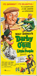 "Movie Posters:Fantasy, Darby O'Gill and the Little People & Other Lot (Buena Vista,1959). Three Sheets (2) (40"" X 82"" & 41"" x 84""). Fantasy.. ...(Total: 2 Items)"