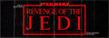 "Movie Posters:Science Fiction, Revenge of the Jedi (20th Century Fox, 1982). Promotional Foldout(15"" X 44""). Science Fiction.. ..."