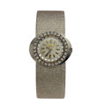 Timepieces:Wristwatch, Lady's Corletto 18k Gold & Diamond Wristwatch. ...