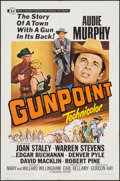 """Movie Posters:Western, Gunpoint & Other Lot (Universal, 1966). One Sheets (2) (27"""" X 41""""). Western.. ... (Total: 2 Items)"""