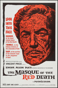 """The Masque of the Red Death (American International, 1964). One Sheet (27"""" X 41""""). Horror"""
