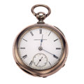 Timepieces:Pocket (pre 1900) , Waltham, Model 57 Appleton Tracy & Co. Civil War Era Key Wind,circa 1864-65. ...