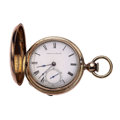 Timepieces:Pocket (pre 1900) , Waltham P.S. Barlett Model 57 Key Wind Pocket Watch. ...