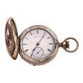 Timepieces:Pocket (pre 1900) , Very Early Elgin G.M. Wheeler 15 Jewel Key Wind Pocket Watch, No.8937, circa 1867. ...