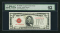 Fr. 1530* $5 1928E Legal Tender Star Note. PMG Uncirculated 62