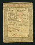 Colonial Notes:Pennsylvania, Pennsylvania October 1, 1773 10s Fine.. ...