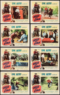 "Hills of Utah (Columbia, 1951). Lobby Card Set of 8 (11"" X 14""). Western. ... (Total: 8 Items)"