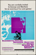 """Movie Posters:Drama, Who's Afraid of Virginia Woolf? (Warner Brothers, 1966). One Sheet (27"""" X 41""""). Drama.. ..."""