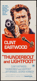 "Movie Posters:Crime, Thunderbolt and Lightfoot (United Artists, 1974). AustralianDaybill (13.5"" X 30""). Crime.. ..."