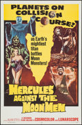"""Movie Posters:Fantasy, Hercules Against the Moon Men (Governor Films, 1965). One Sheet (27"""" X 41""""). Fantasy.. ..."""