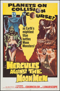 "Hercules Against the Moon Men (Governor Films, 1965). One Sheet (27"" X 41""). Fantasy"