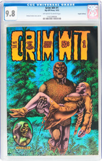 Grim Wit #1 Haight-Ashbury pedigree (Rip Off Press, 1972) CGC NM/MT 9.8 Off-white to white pages