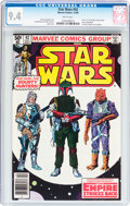 Modern Age (1980-Present):Science Fiction, Star Wars #42 (Marvel, 1980) CGC NM 9.4 White pages....