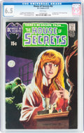 Bronze Age (1970-1979):Horror, House of Secrets #92 (DC, 1971) CGC FN+ 6.5 White pages....