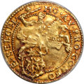 Netherlands:Gelderland, Netherlands: Gelderland. Provincial gold 1/2 Cavalier d'or 1620MS63 PCGS,...