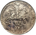 Netherlands East Indies, Netherlands East Indies: Dutch Colony - United East India CompanyDucaton 1738 VF Details (Surface Hairlines) NGC,...
