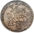 Netherlands East Indies, Netherlands East Indies: Dutch Colony - United East India CompanyDucaton 1738 XF Details (Mount Removed) NGC,...