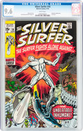Bronze Age (1970-1979):Superhero, The Silver Surfer #18 (Marvel, 1970) CGC NM+ 9.6 White pages....