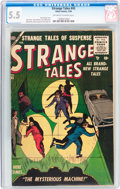 Silver Age (1956-1969):Horror, Strange Tales #43 (Atlas, 1956) CGC FN- 5.5 Off-white to whitepages....