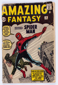 Amazing Fantasy #15 (Marvel, 1962) Condition: PR