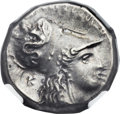 Ancients:Greek, Ancients: LUCANIA. Heraclea. Ca. 300-281 BC. AR stater (20mm, 7.86gm, 6h)....