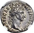 Ancients:Roman Imperial, Ancients: Nerva (AD 96-98). AR denarius (18mm, 3.54 gm, 6h)....