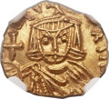 Ancients:Byzantine, Ancients: Leo V the Armenian (AD 813-820), with Constantine. AVtremissis (13mm, 1.30 gm, 5h)....