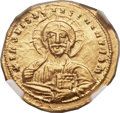Ancients:Byzantine, Ancients: John I Tzimisces (AD 969-976). AV histmanon nomisma(22mm, 4.32 gm, 6h)....