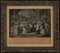 Photography:Official Photos, Photograph of a mezzotint etching of Great Britain's Royal Family,1897.. ...