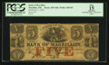 Obsoletes By State:Ohio, Massillon, OH - Bank of Massillon $5 Jan. 1, 1852 G8b Wolka1609-09. ...