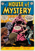 Golden Age (1938-1955):Horror, House of Mystery #6 (DC, 1952) Condition: VG+....