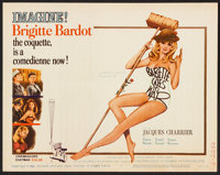 "Babette Goes to War (Columbia, 1960). Title Lobby Card (11"" X 14""). Foreign"