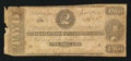 Confederate Notes:1863 Issues, T61 $2 1863 PF-1 Cr. 470.. ...
