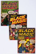 Golden Age (1938-1955):Horror, Black Magic Group of 7 (Prize, 1951-53) Condition: Average FR....(Total: 7 Comic Books)
