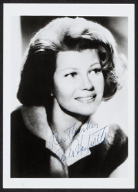 "Rita Hayworth (1970s). Autographed Restrike Portrait Photo (5"" X 7""). Miscellaneous"