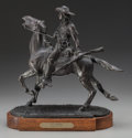 Fine Art - Sculpture, American:Contemporary (1950 to present), Peter Fillerup (American, 20th Century). Kit Carson, 1981.Patinated bronze. 16-3/4 x 15 x 7 inches (42.5 x 38.1 x 17.8 ...