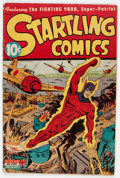 Golden Age (1938-1955):Superhero, Startling Comics #33 (Better Publications, 1945) Condition: GD....