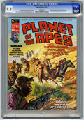 Magazines:Science-Fiction, Planet of the Apes #6 (Marvel, 1975) CGC NM/MT 9.8 White pages....
