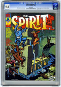 Magazines:Superhero, The Spirit #4 (Warren, 1974) CGC NM 9.4 White pages....