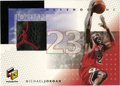 Basketball Collectibles:Others, 1999-00 Upper Deck HoloGrFx Michael Jordan NBA Shoetime #MJ-S. Thisrare Upper Deck HoloGrFx Shoetime card from the 1999-00...