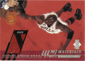 Basketball Collectibles:Others, 2000-01 Upper Deck MJ Materials Michael Jordan #MJ3. Each of thecards from this 2000-01 Upper Deck issue contains portions...