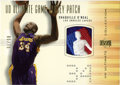Basketball Collectibles:Others, 2000-01 Upper Deck Ultimate Collection Game Jersey Patch ShaquilleO'Neal #SO-P. This rare card contains a game-used sectio...