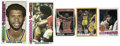 Basketball Cards:Lots, NBA Stars Basketball Cards Lot of 5, 1 Signed. Some of the mostpopular basketball players of the past quarter century are ...