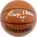 Basketball Collectibles:Balls, George Mikan Single Signed Basketball. George Mikan, officiallyrecognized as basketball's first true big man, has applied ...