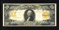 Large Size:Gold Certificates, Fr. 1186 $20 1906 Gold Certificate Fine-Very Fine. The color and print quality on this note are suggestive of a much higher ...