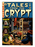 Golden Age (1938-1955):Horror, Tales From the Crypt #27 (EC, 1951) Condition: FN....